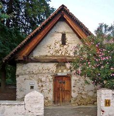 St. Nicholas Greek Church in Galata village, Troodos Mountains, Cyprus