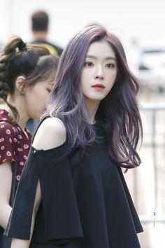 irene (배주현/bae joohyun) from red velvet Red Velvet アイリーン, Irene Red Velvet, Violet Hair, Purple Hair, Red Hair, Burgundy Hair, Brown Hair, Seulgi, Korean Beauty