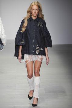 Sibling A/W14 @ London Fashion Week