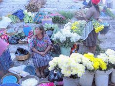Chichicastenango market Guatemala - I would love to go to this market again....beautiful textiles!