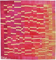 Beautiful Building Block Quilts, Create Improvisational Quilts from One Block • 8 Projects • Tips on Color and 4 Bonus Projects by Lisa Walton for C&T Publishing