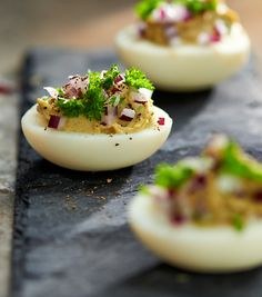 Jajka faszerowane awokado #lidl #przepis #jajka #awokado #faszerowane