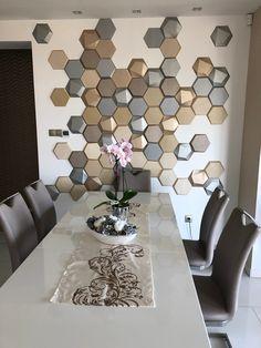 Egy újabb étkezőt varázsoltak izgalmassá a MOPA 3D panelekkel. 3d, Contemporary, Rugs, Kitchen, Home Decor, Terrace, Tiles, Cooking, Homemade Home Decor