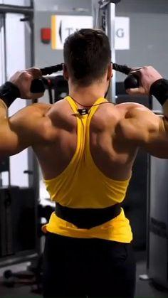 Push Workout, Gym Workout Chart, Full Body Hiit Workout, Gym Workout Videos, Gym Workout For Beginners, Weight Training Workouts, Gym Workouts, Shoulder Workout Routine, Best Shoulder Workout