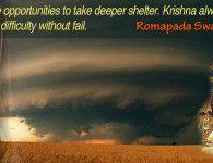 romapada swami on krishna's protection