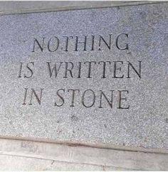 written in stone (81 pieces)