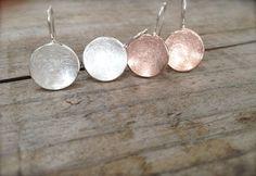 Ohrhänger aus 925er Silber in den Farben rose, gold & silber... http://de.dawanda.com/shop/Miabrina