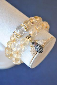 Beaded Jewelry, Jewelry Bracelets, Handmade Jewelry, Stretch Bracelets, Fashion Forward, Art Pieces, Royalty, Bee, Hands