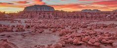 2 Days in Souhtern Utah--Zebra Slot Canyon, Goblin Valley, and False Kiva