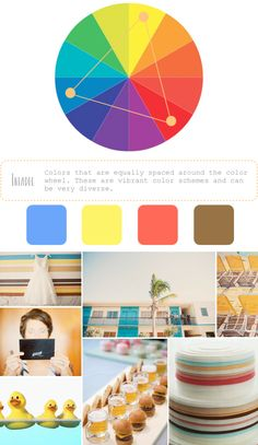 How to Create Color Palettes / triadic colors
