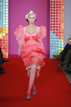 Christian Lacroix Spring-summer 2008 - Couture