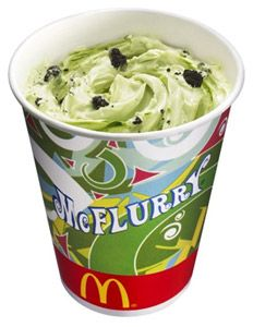 McFlurry Green Tea