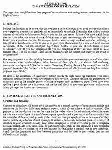 Essay of english writers