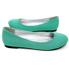 I love a flat in a bright color!  I would wear these with an LBD, a pretty spring dress, or just some dark jeans and a cute top (I'm thinking coral and gray color combo?).