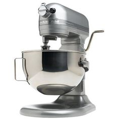 Metallic Chrome Professional 5-Quart Bowl Lift Stand Mixer by KitchenAid would make a great gift.