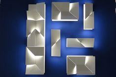 Euroluce (Foto: Adriana Frattini)  Wall Shadows Long e Petit, design Charle Kalpakian para Nemo