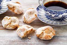 Veganska+amaretti Aquafaba, Muffin, Breakfast, Food, Morning Coffee, Essen, Muffins, Meals, Cupcakes