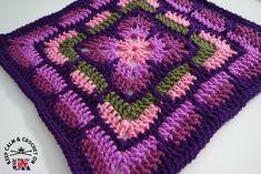 ergahandmade: Crochet Blanket Granny Square + Free Pattern