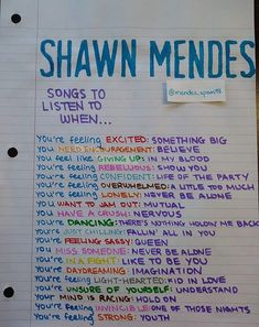 Shawn Mendes tickets if I can Music Mood, Mood Songs, Shawn Mendes Lieder, Shawn Mendes Songs, Shawn Mendes Tickets, Shawn Mendes Quotes, Vie Motivation, Song Suggestions, Never Be Alone