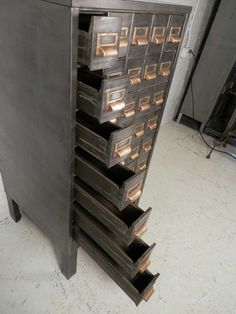 Post office mail sorter, oak w/dovetailed corners - I'm getting ...