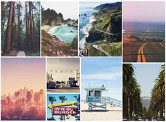 Travel Bucket List on The Mix and Match: Los Angeles and Big Sur #travel #california