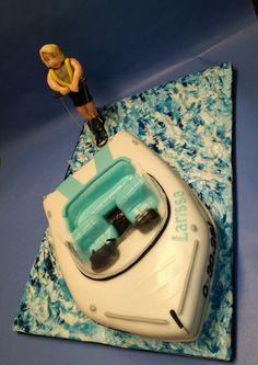 Motorboot Torte