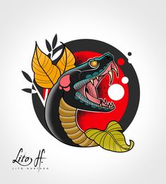 japanese tattoos for women neo traditional tattoo design wo japanese tattoos f. - japanese tattoos for women neo traditional tattoo design wo japanese tattoos for women neo tradi - Japanese Snake Tattoo, Japanese Tattoo Women, Japanese Tattoo Designs, Tattoo Designs Men, Japanese Design, Tattoo Snake, Neo Tattoo, Tattoo Sketches, Tattoo Drawings