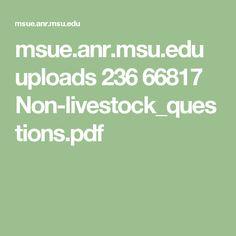 msue.anr.msu.edu uploads 236 66817 Non-livestock_questions.pdf