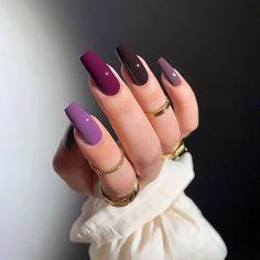 Edgy Nails, Stylish Nails, Swag Nails, Trendy Nails, Nagellack Design, Nagellack Trends, Acrylic Nails Coffin Short, Best Acrylic Nails, Gorgeous Nails