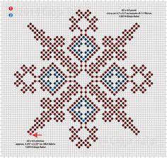 Italian Needlework: October 2014  Sardinian Knot Stitch free pattern