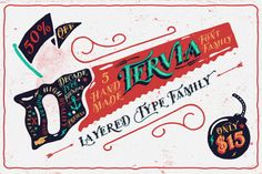 (50%OFF) Tervia Family by AgungMaskund on Creative Market