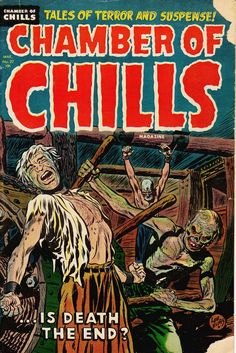 Comic Book Cover For Chamber of Chills Magazine v1 #22