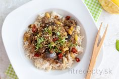 Fitness recepty s vysokým obsahom bielkovín No Cook Meals, Tofu, Vegan, Vegetables, Cooking, Ethnic Recipes, Kochen, Vegetable Recipes, Brewing