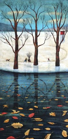 Adrian Sykes, Collecting Sticks
