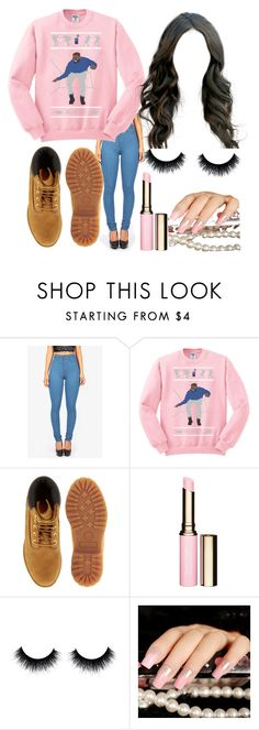 """""""☎️"""" by jadab521 ❤ liked on Polyvore featuring Timberland and Clarins"""
