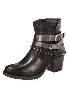 Tamaris - Cowboy-/ Bikerstiefelette - black