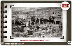 Resumen de Noticias: Fotos Históricas   Plaza Bolívar de Caracas