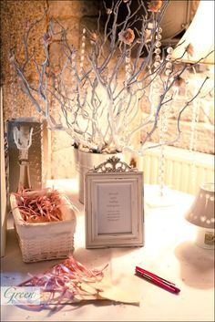 Wishing tree. Guests write advice and wishes for the married couple.