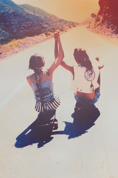 Let's be hipster like this over the summer, okay?