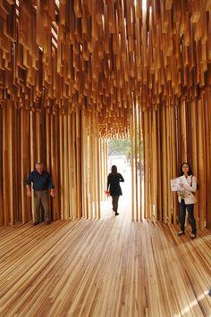 David Adjaye Size   Matter #arch #architecture #wood #material
