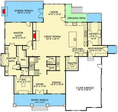 Upstairs for the Kids - 500005VV | Architectural Designs - House Plans