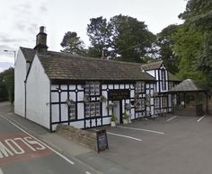 built in 1485  The George and Dragon Pub in Flockton