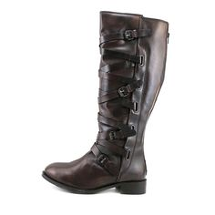 Luichiny This Time Womens Size 7 Brown Leather Fashion Knee High Boots EU 37 | eBay