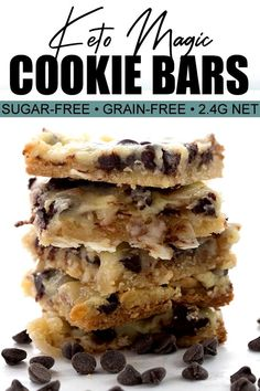 Low Carb Magic Cookie Bars! One of my all-time favorite treats now comes in a keto and grain-free recipe. Use my easy sugar-free condensed milk to make this classic dessert in a healthy form. This is an updated recipe now even easier and more delicious! #ketobaking #sugarfree #grainfree ...you are taking a long flight and you know they have meal service in advance. As far as snacks go a small package of salted peanuts or even dry roaste...You can also replace a high-carb snack such as a…