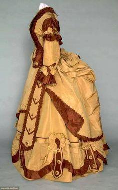 Imagenes de trajes de polisón temprano (1870-76) - Página 2