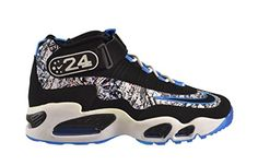 info for 1063b 51dac Nike Air Griffey Max 1 Mens Shoes Black Black Dark Concord Hyper Jade