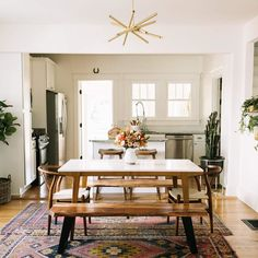 Kacey Musgraves' Dining Room Tour (A Beautiful Mess) Interior Exterior, Interior Design, Dining Room Inspiration, Room Tour, Home Fashion, Decoration, Home Kitchens, Buffet, Living Spaces