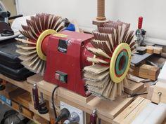 Wooden Models #166: Mag Wheel Making Jig - by htl @ LumberJocks.com ~ woodworking community Wooden Toy Trucks, Wooden Plane, Corn Bags, Making Wooden Toys, Bird Mobile, Make Up Your Mind, Bench Plans, Shop Plans, Metal Pins