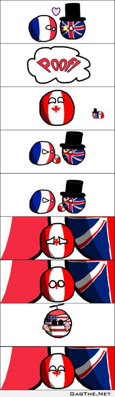 Canada had a rough childhood [x-post from /r/polandball]