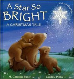 A Star So Bright: A Christmas Tale by M. Christina Butler ill by Caroline Pedler Christmas Books For Kids, Christmas Tale, Childrens Christmas, Christmas Colors, Childrens Books, Christmas Concert, Christmas Activities, Christian Children's Books, Christian Kids